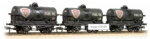 37-671 Bachmann Branchline Triple Pack 14 Ton Tank Wagons Large Filler 'Fina' Weathered